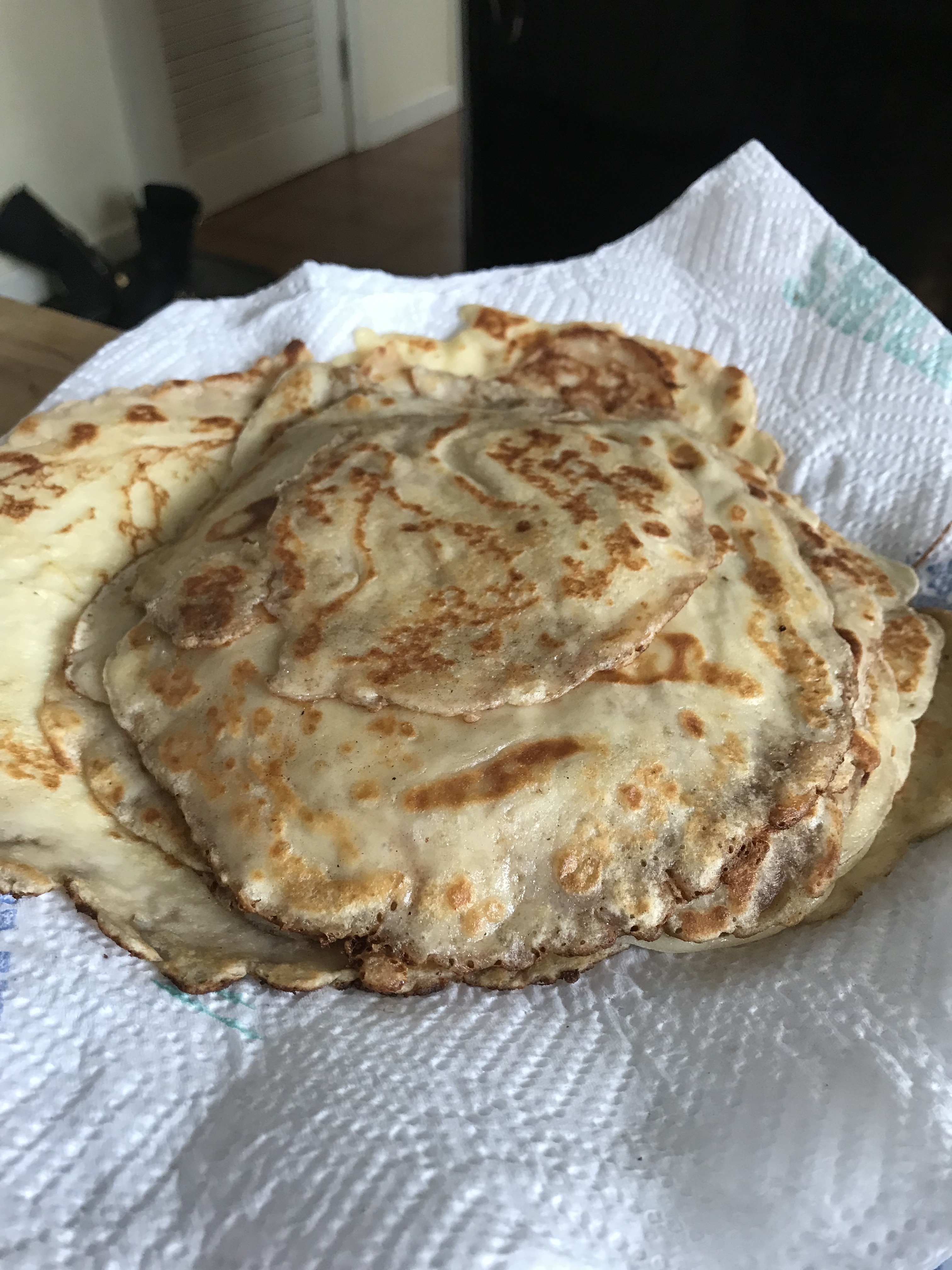 Easy Blini (Russian Pancake) Olga Sergeevna Kim