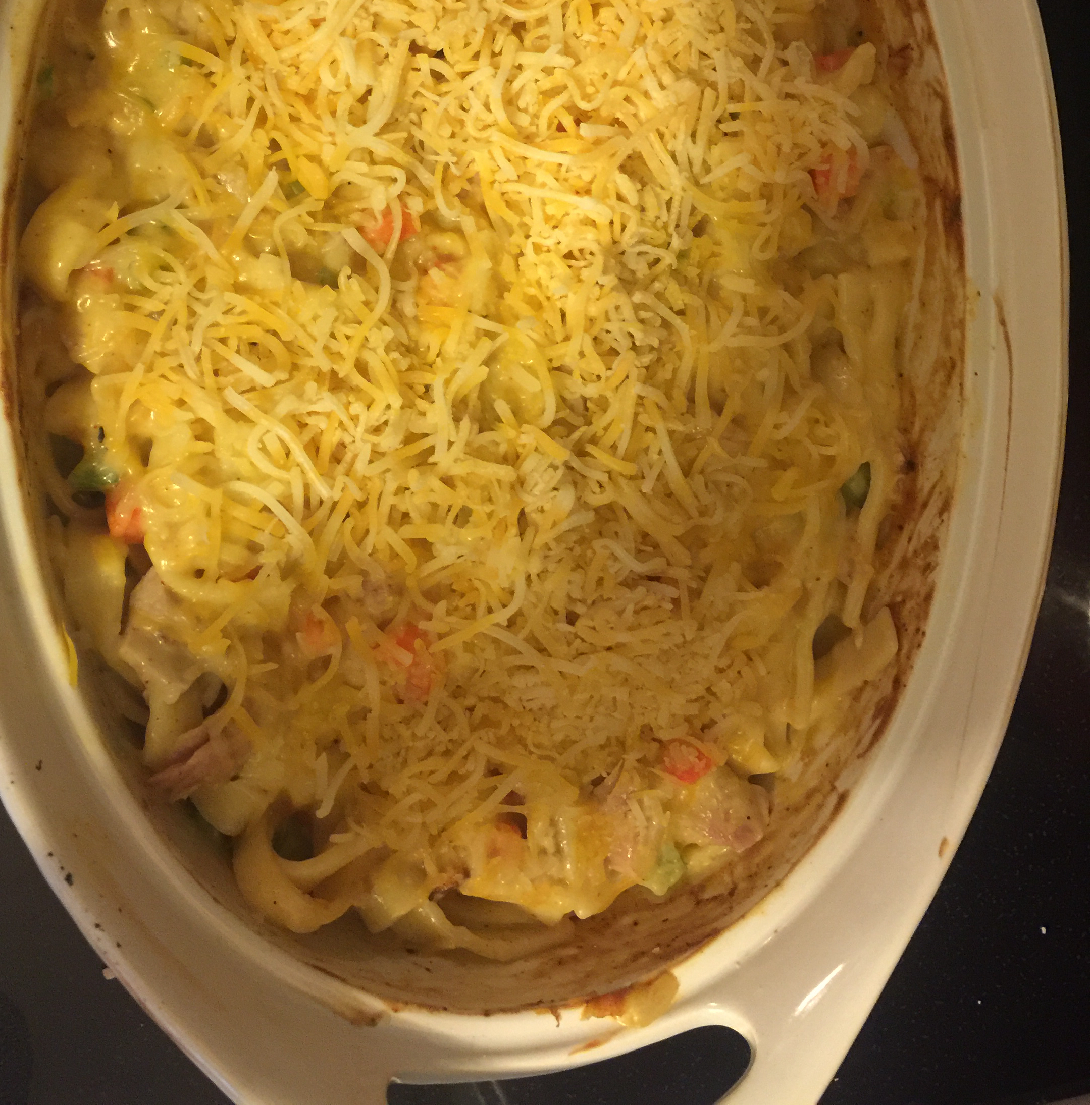 Hearty Chicken and Noodle Casserole vex