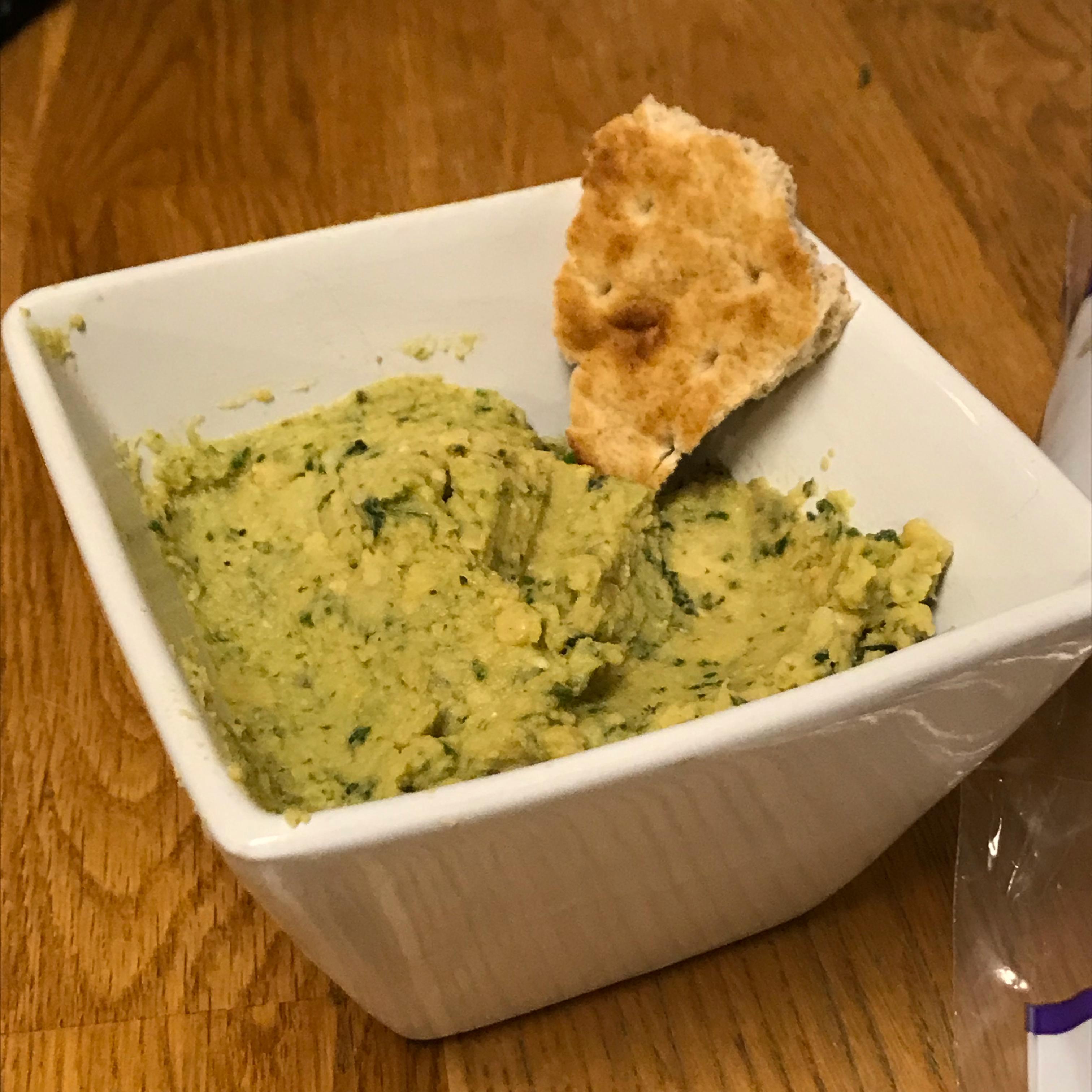 Basil and Pesto Hummus Maddie McDermott