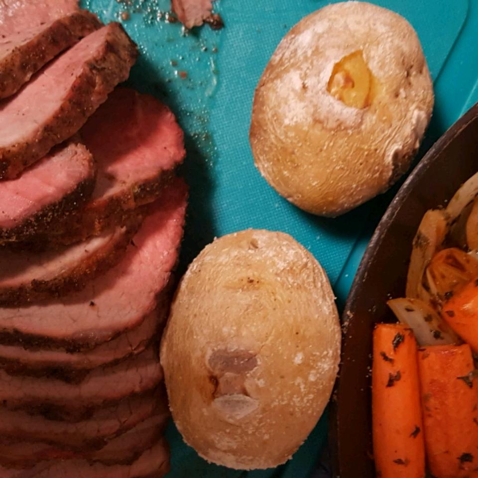 High Temperature Eye-of-Round Roast