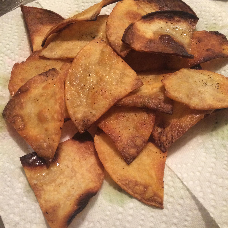 Fried Flour Tortilla Chips Sessa Leigh