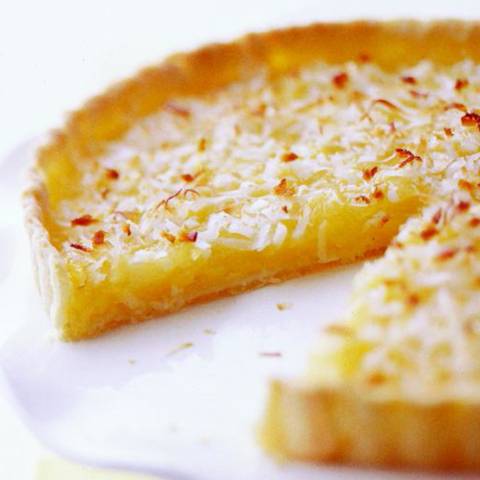 Pineapple-Coconut Tart Diabetic Living Magazine