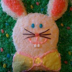 Easy Bunny Cake LeeBreece