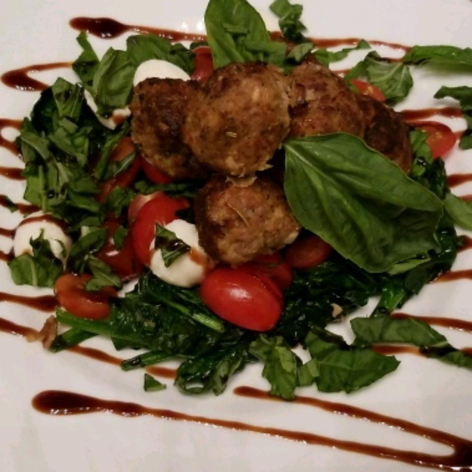 Curried Turkey Meatballs PGOwens