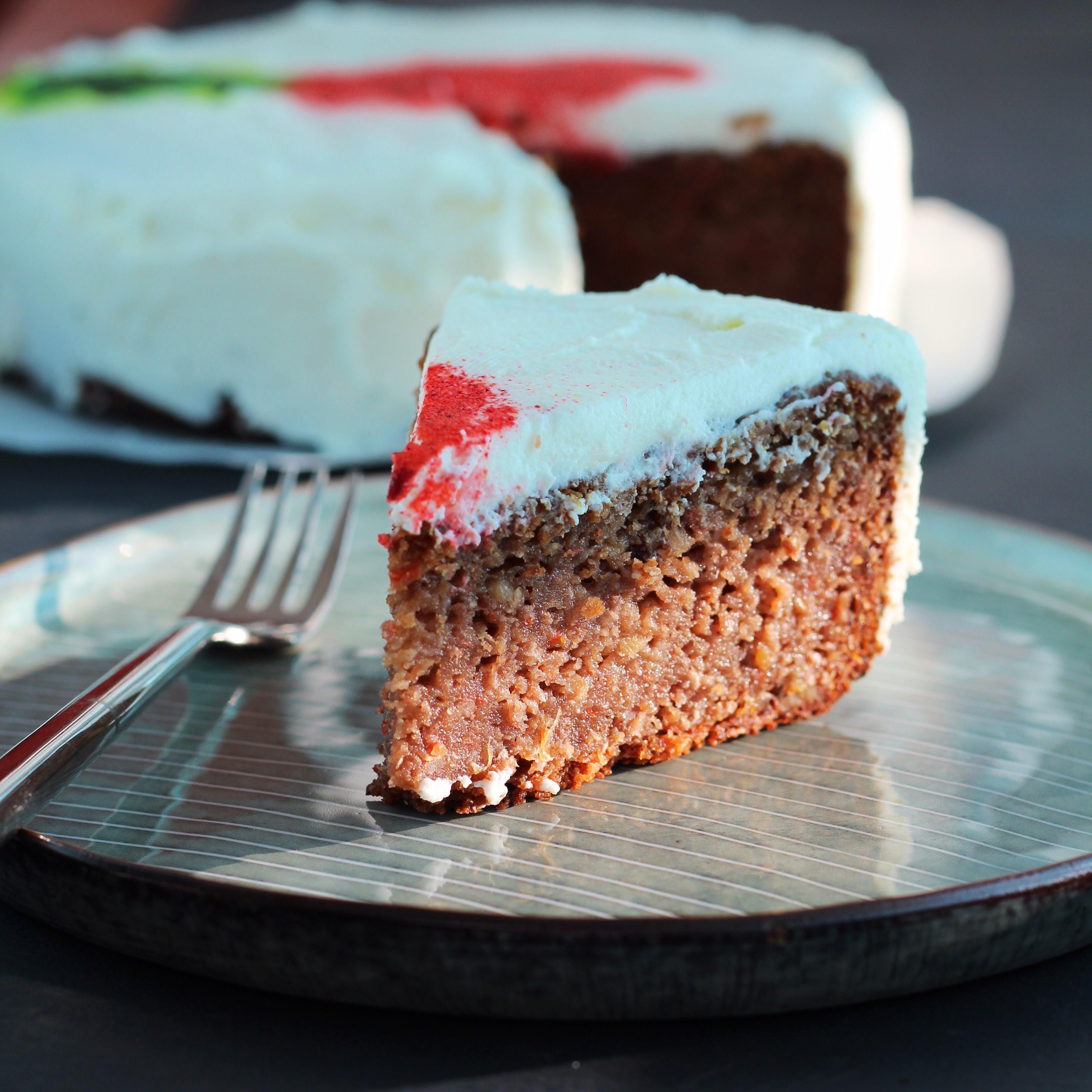 Gluten-Free Vegan Carrot Cake shadelta