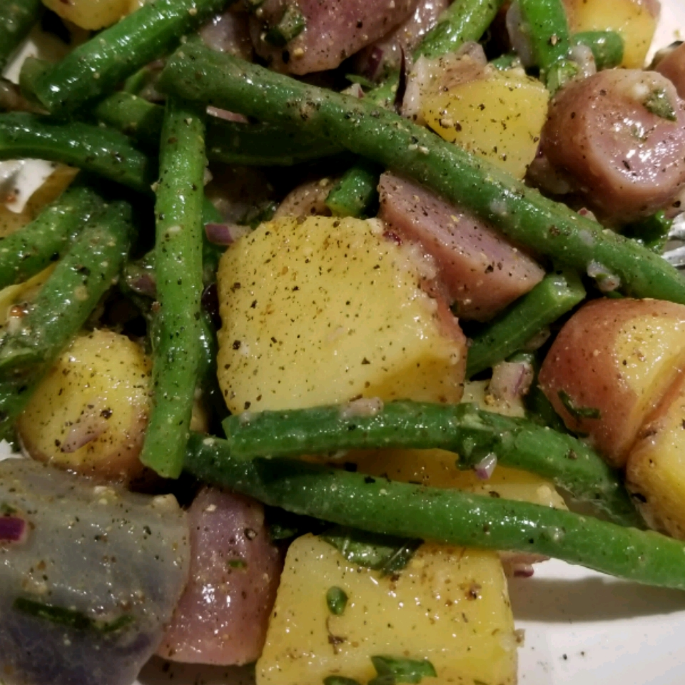 Green Bean and Potato Salad MellyJay