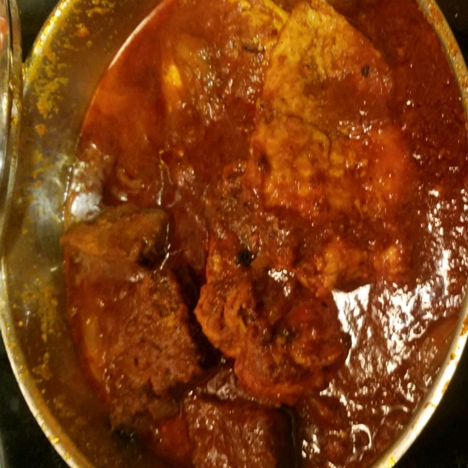 Eye of Round Steak and Ketchup Carla de Alba