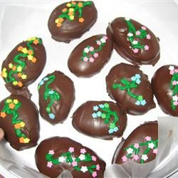 Chocolate Covered Easter Eggs SPRING