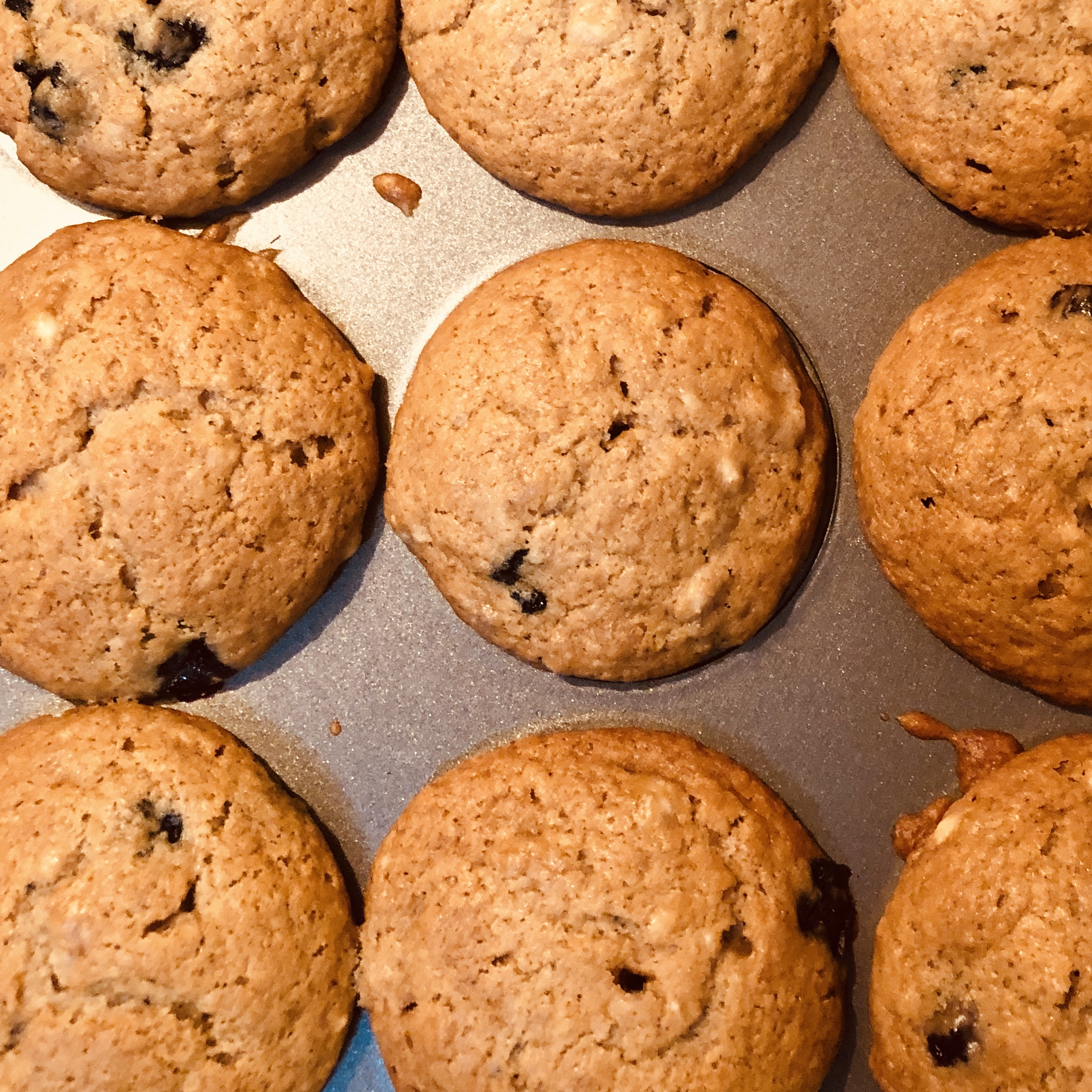 Vegan Banana Blueberry Muffins Kathleen O'Hara