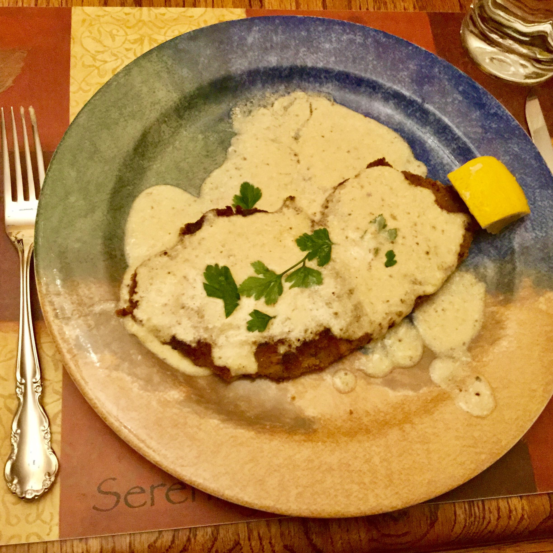 Veal Scaloppini with Lemon Cream Sauce Ken Judy