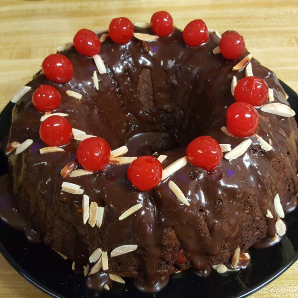 Cherry Chocolate Cake Christine Jewell