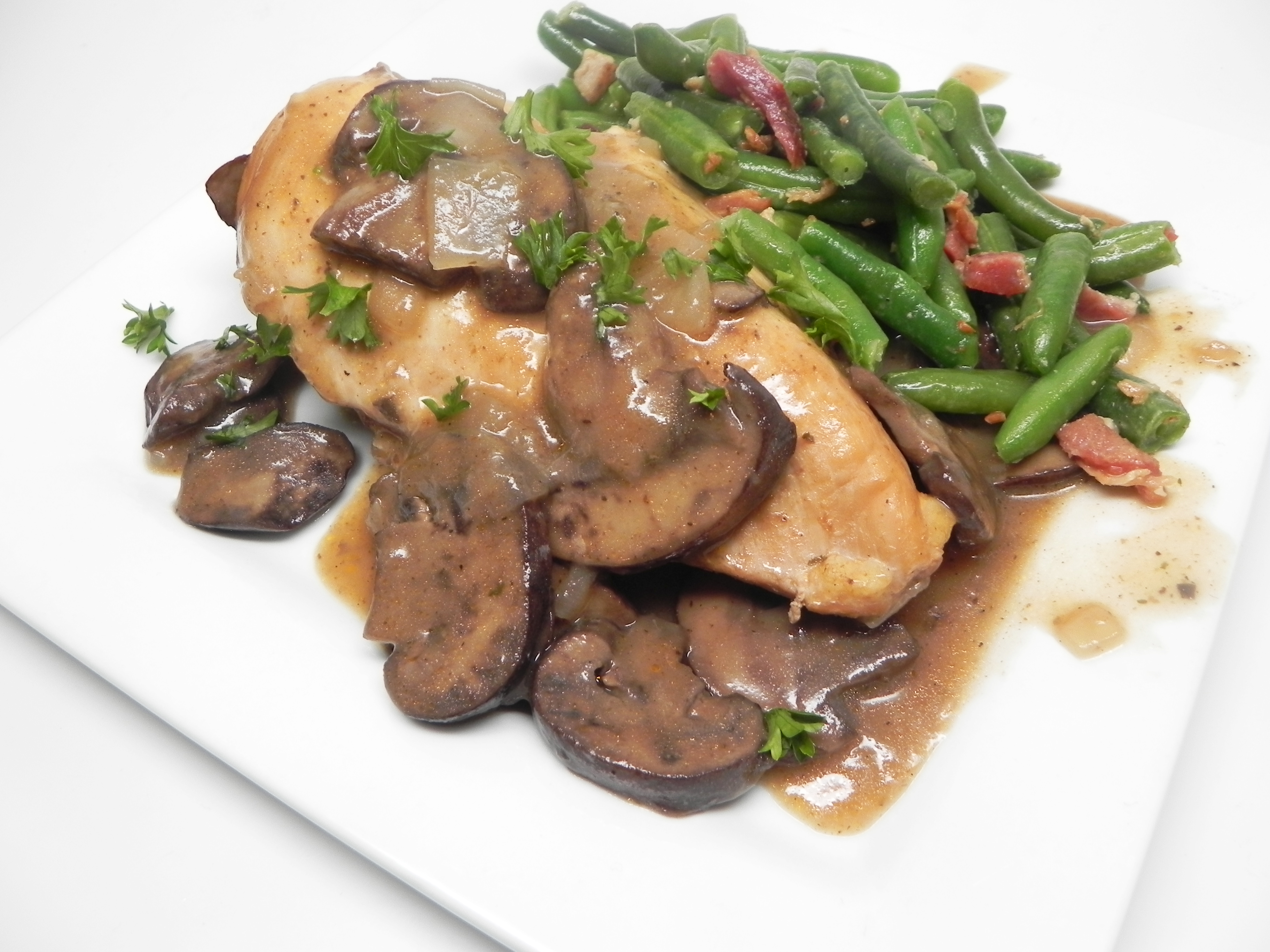 Instant Pot® Chicken and Mushrooms with Gravy Mr. Mike