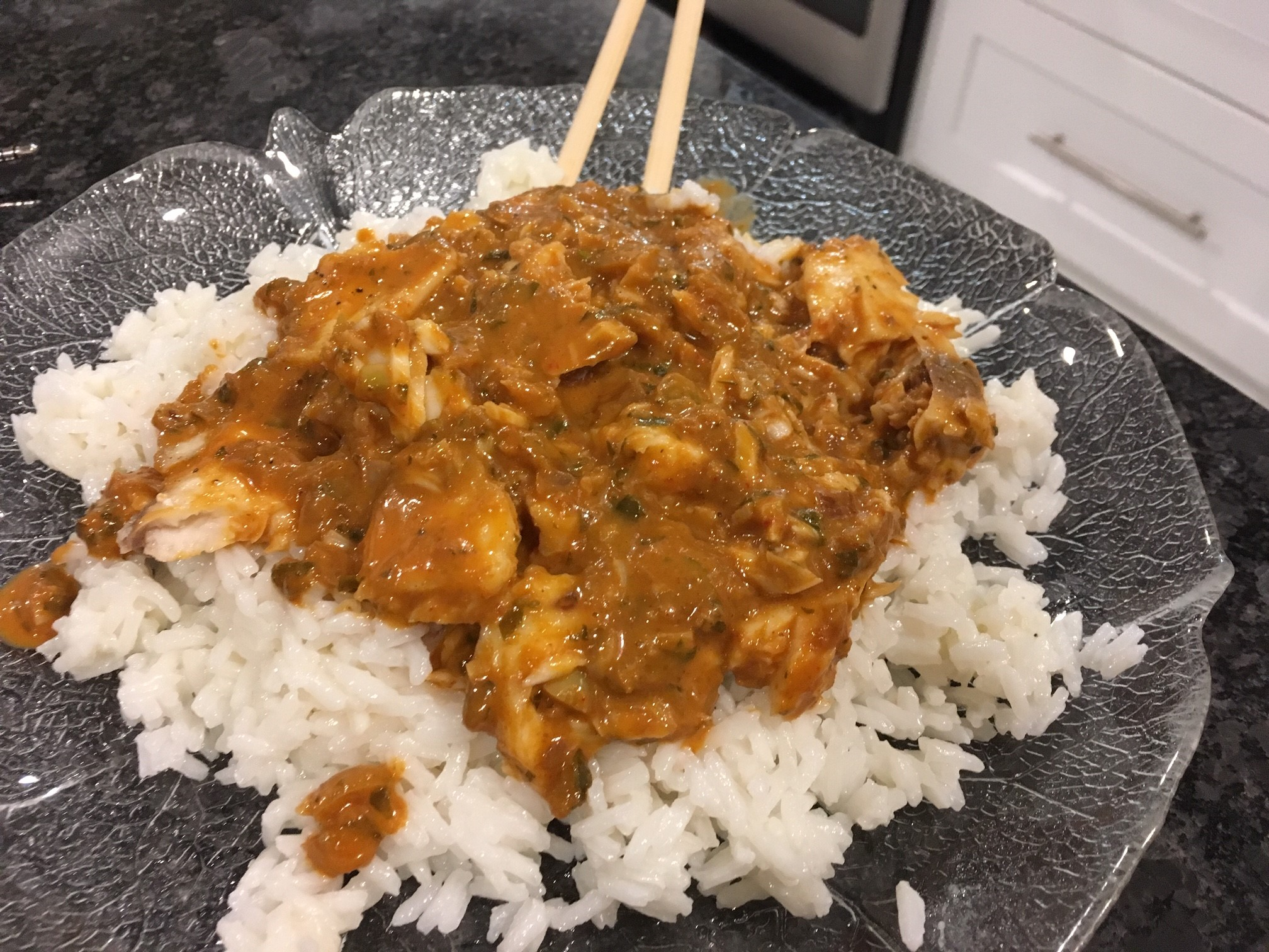 Fish Filet in Thai Coconut Curry Sauce Amy Litster