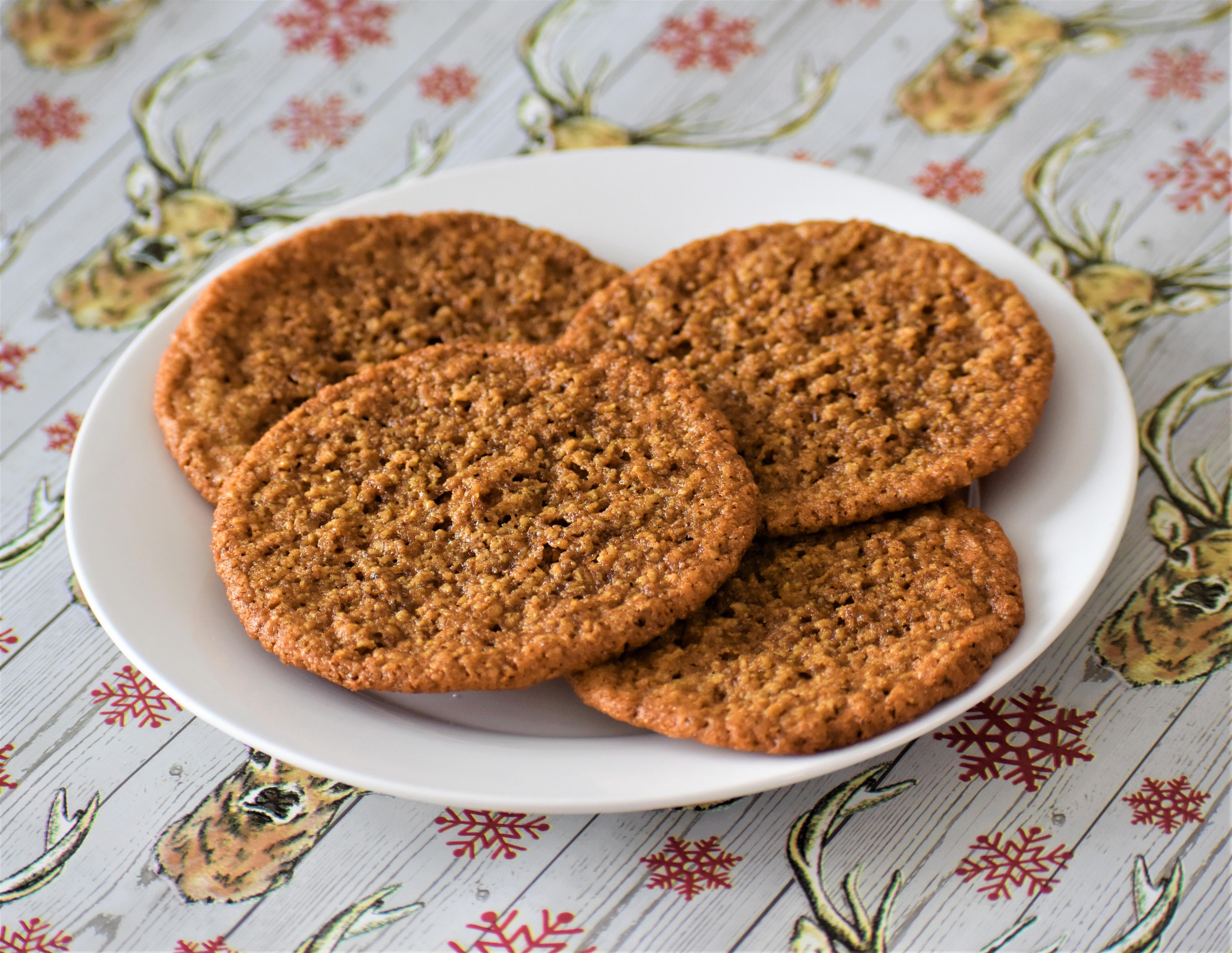 Gluten-Free Gingersnaps Cameron Houser