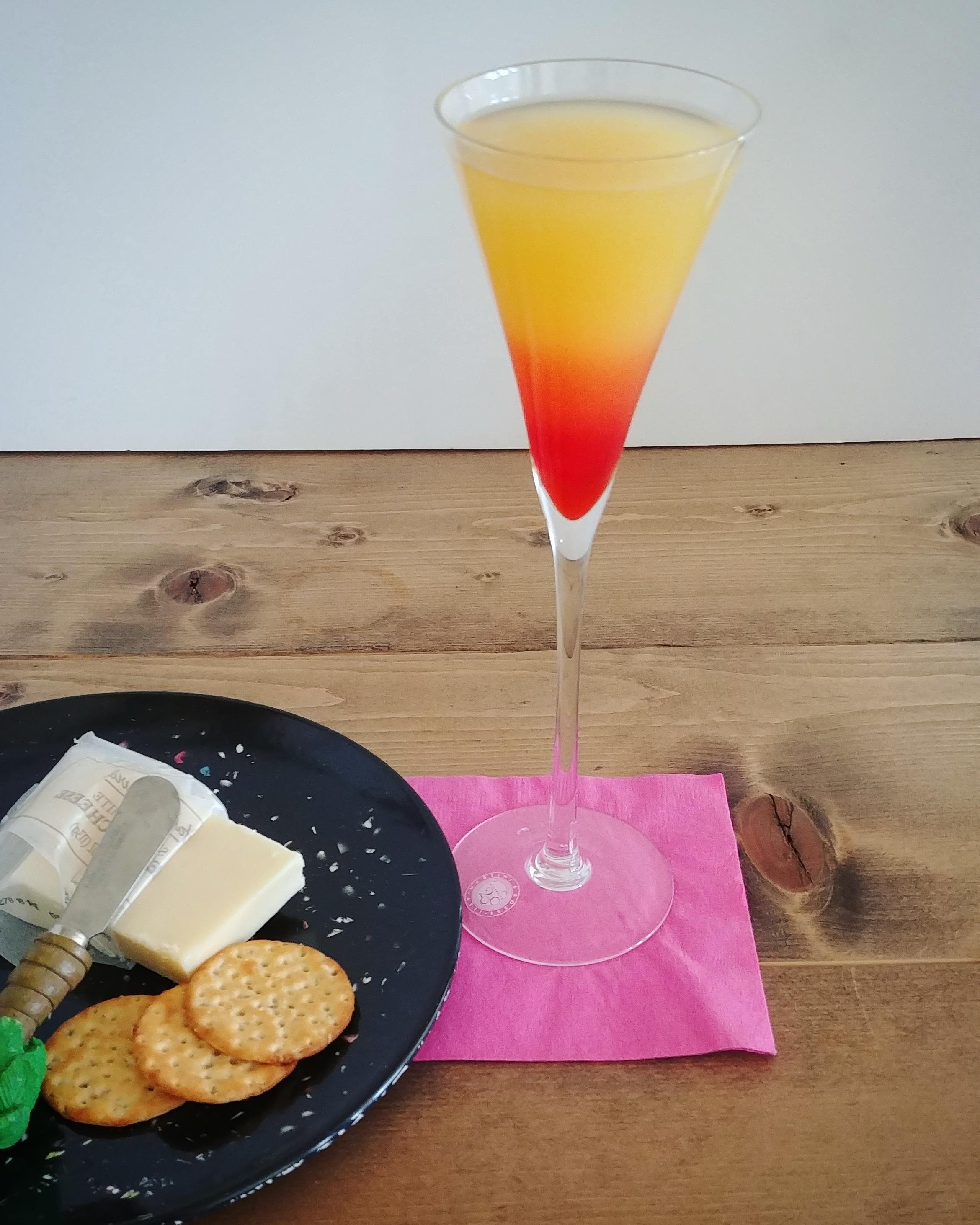 Pineapple Cake Martini Chef Mo