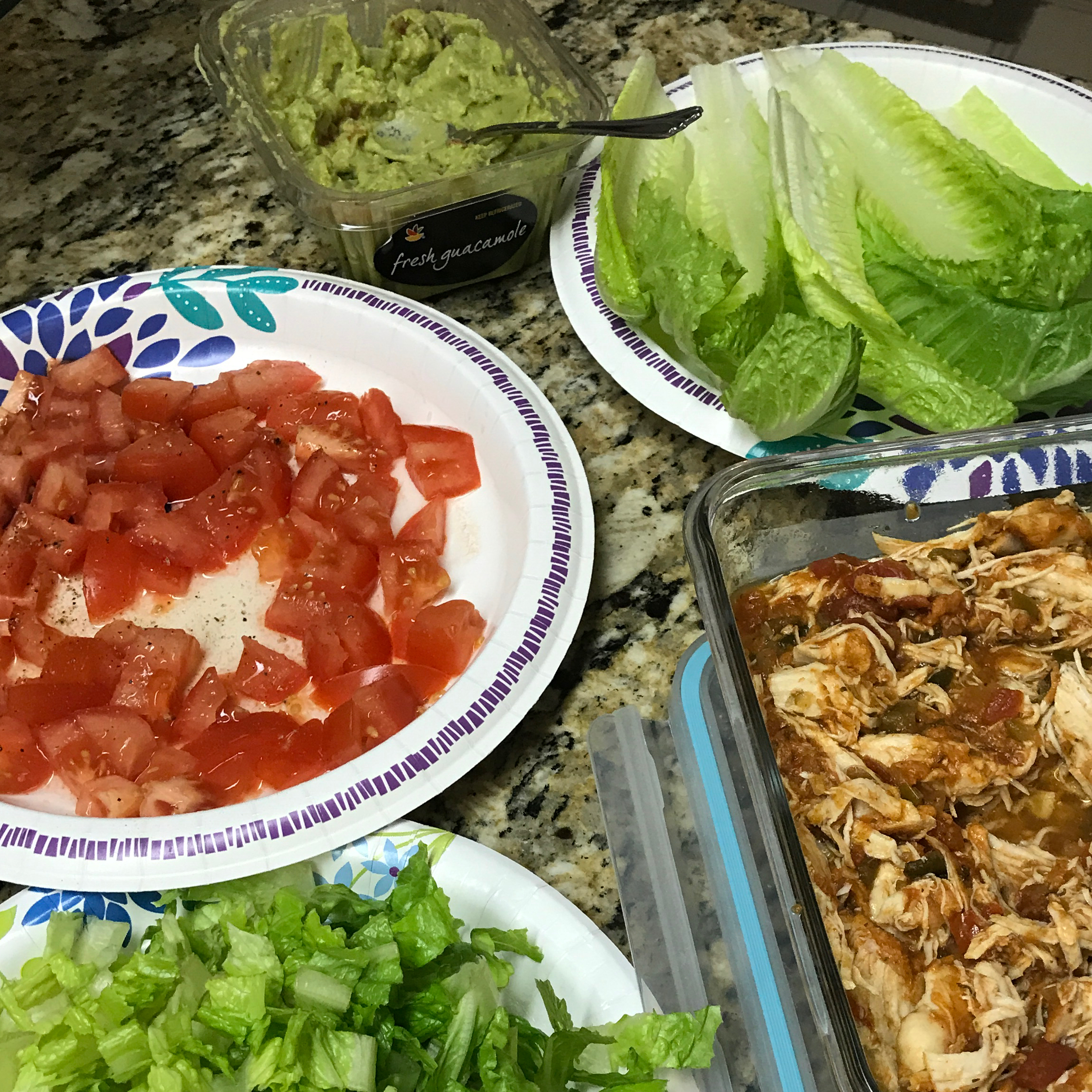 Instant Pot® Salsa Chicken playswithpaper