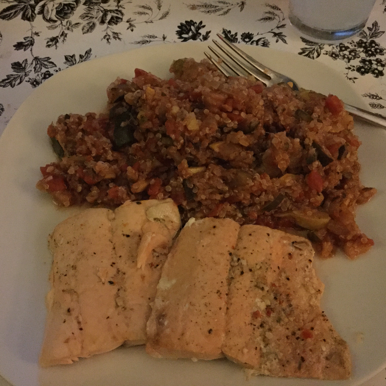 Instant Pot® Frozen Salmon
