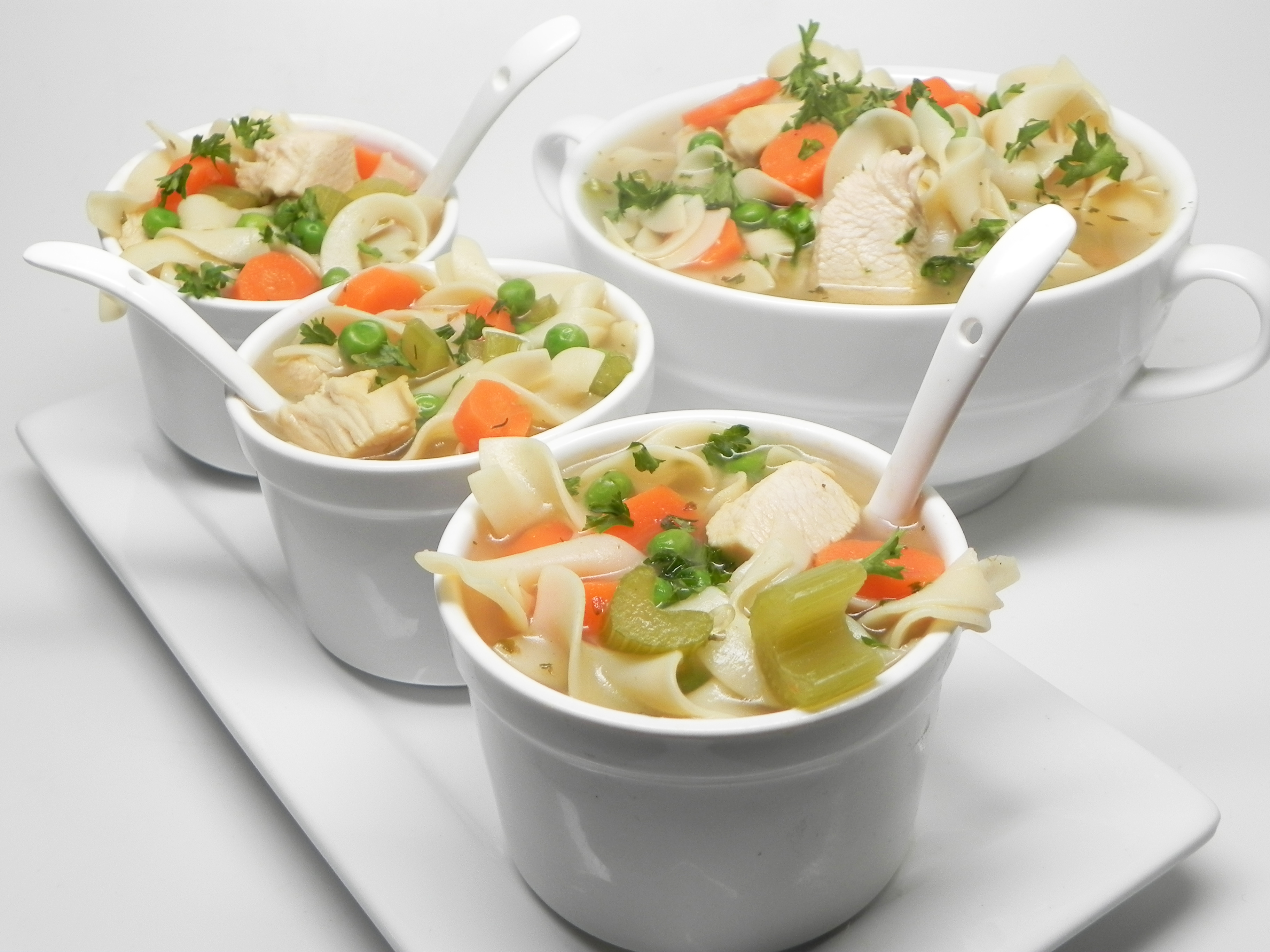 Quick and Easy Chicken Soup Klayr Clark