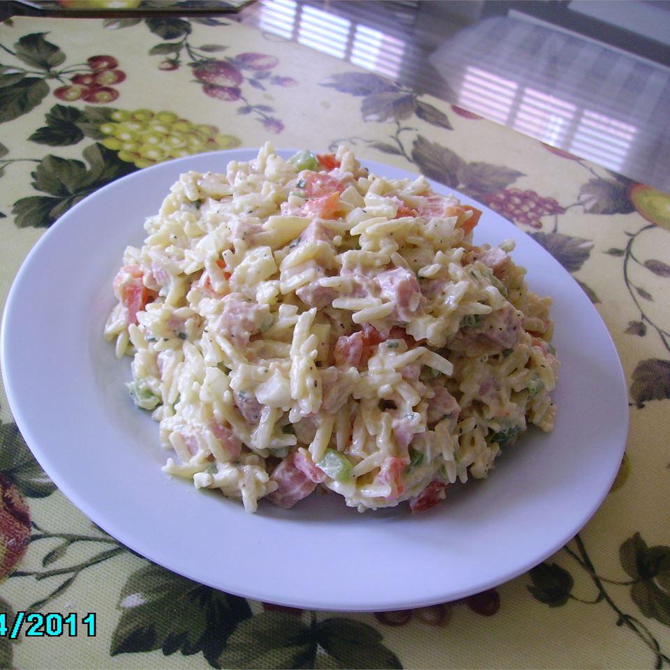 Orzo Ham Salad Christina