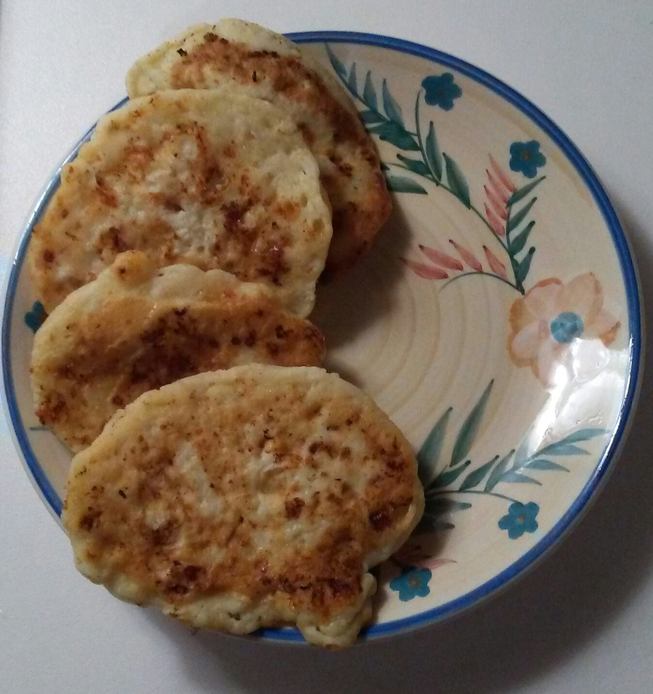 Easy Cottage Cheese Pancakes