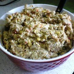 Poblano Chicken Salad