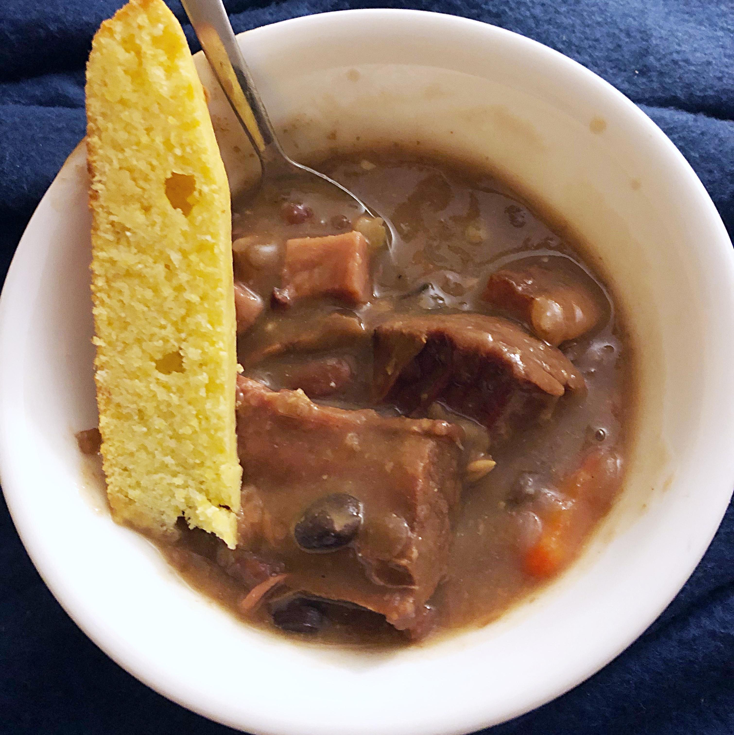Ham Bone and Bean Soup