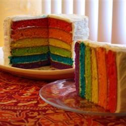 Epic Rainbow Cake