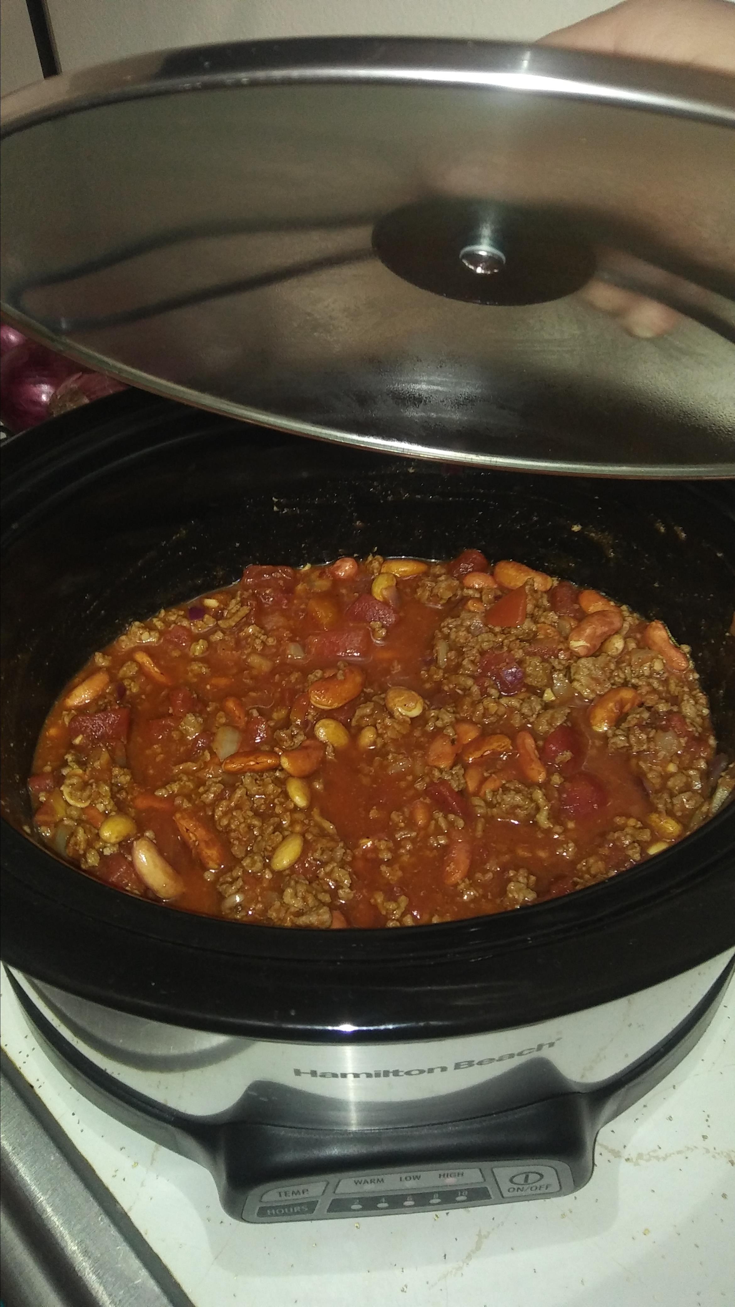 Slow Cooker Venison Chili For The Big Game Recipe Allrecipes