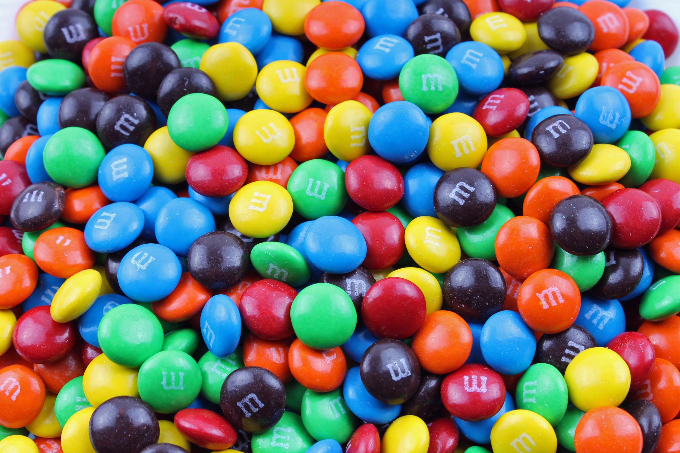 Candy-Coated Chocolate Pieces III Shirlybeth Chan