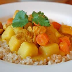 Michelle's Coconut Chicken Curry VANCITYGIRL