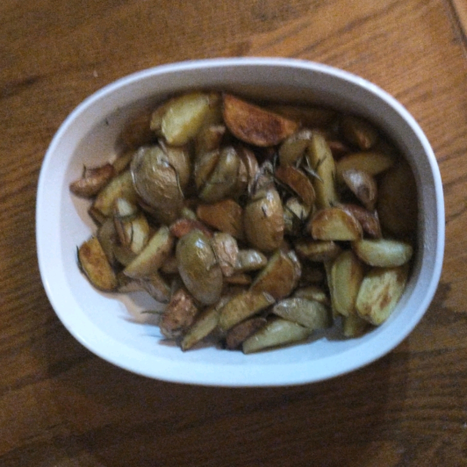 Early Morning Oven Roasted New Potatoes