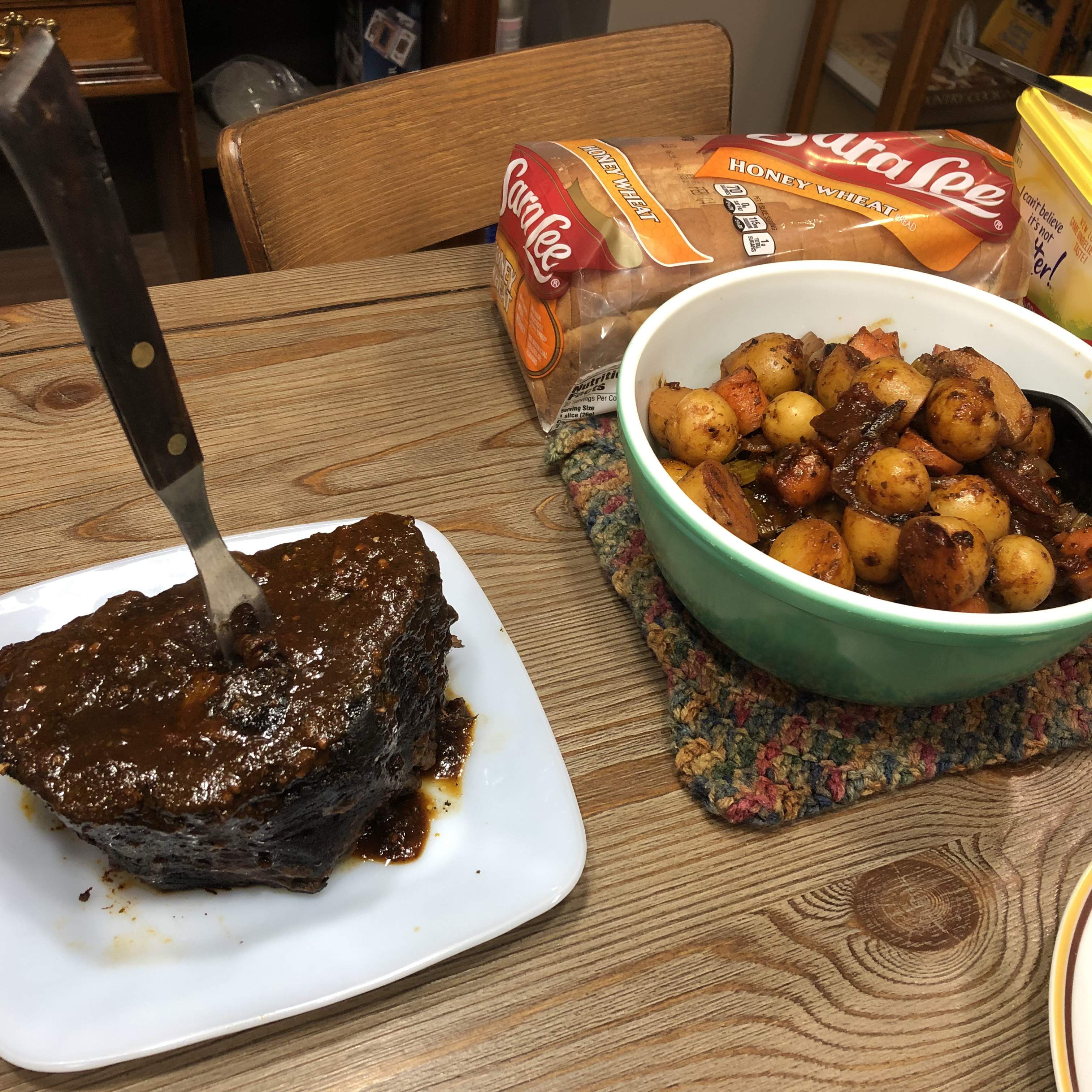 Brasato Stile Italiano (Pot Roast Italian Style)
