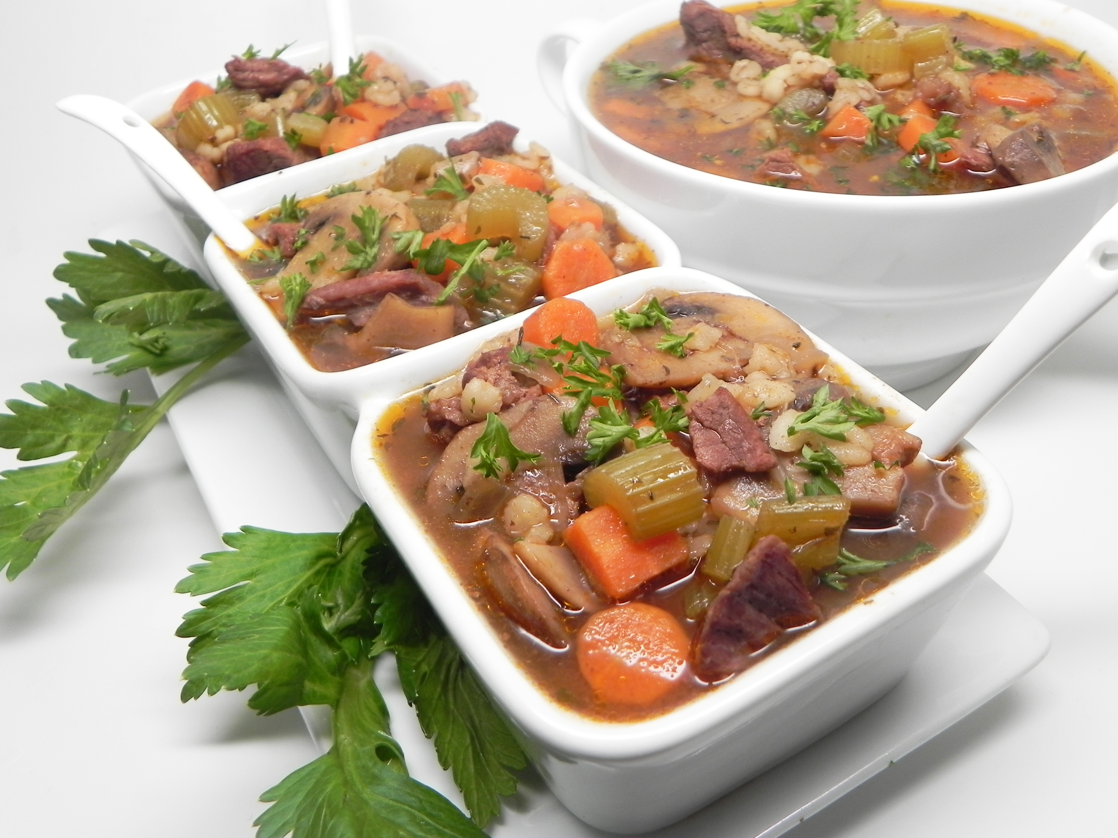 Instant Pot® Beef And Barley Soup
