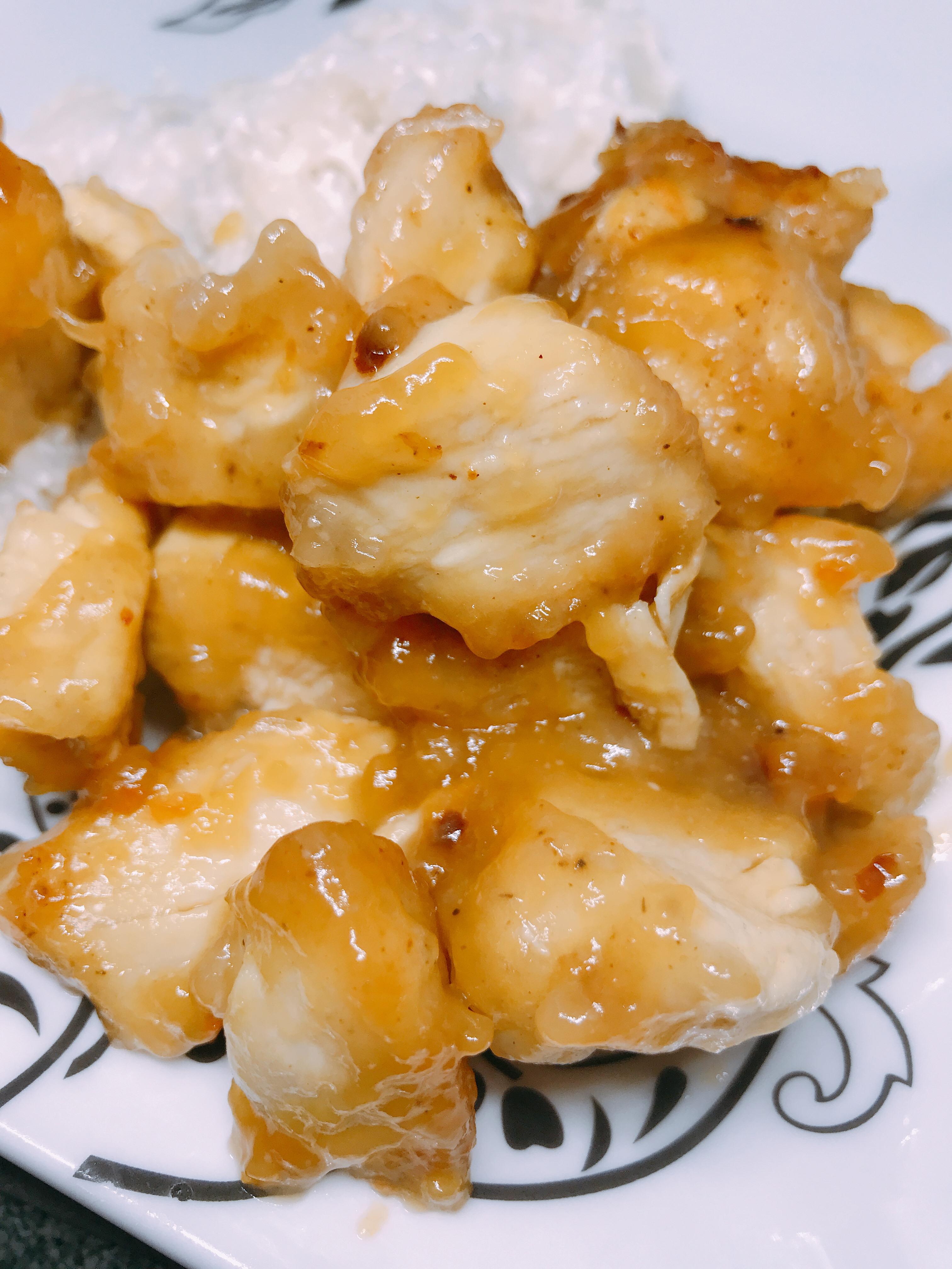 Healthy Instant Pot® Orange Chicken thedailygourmet