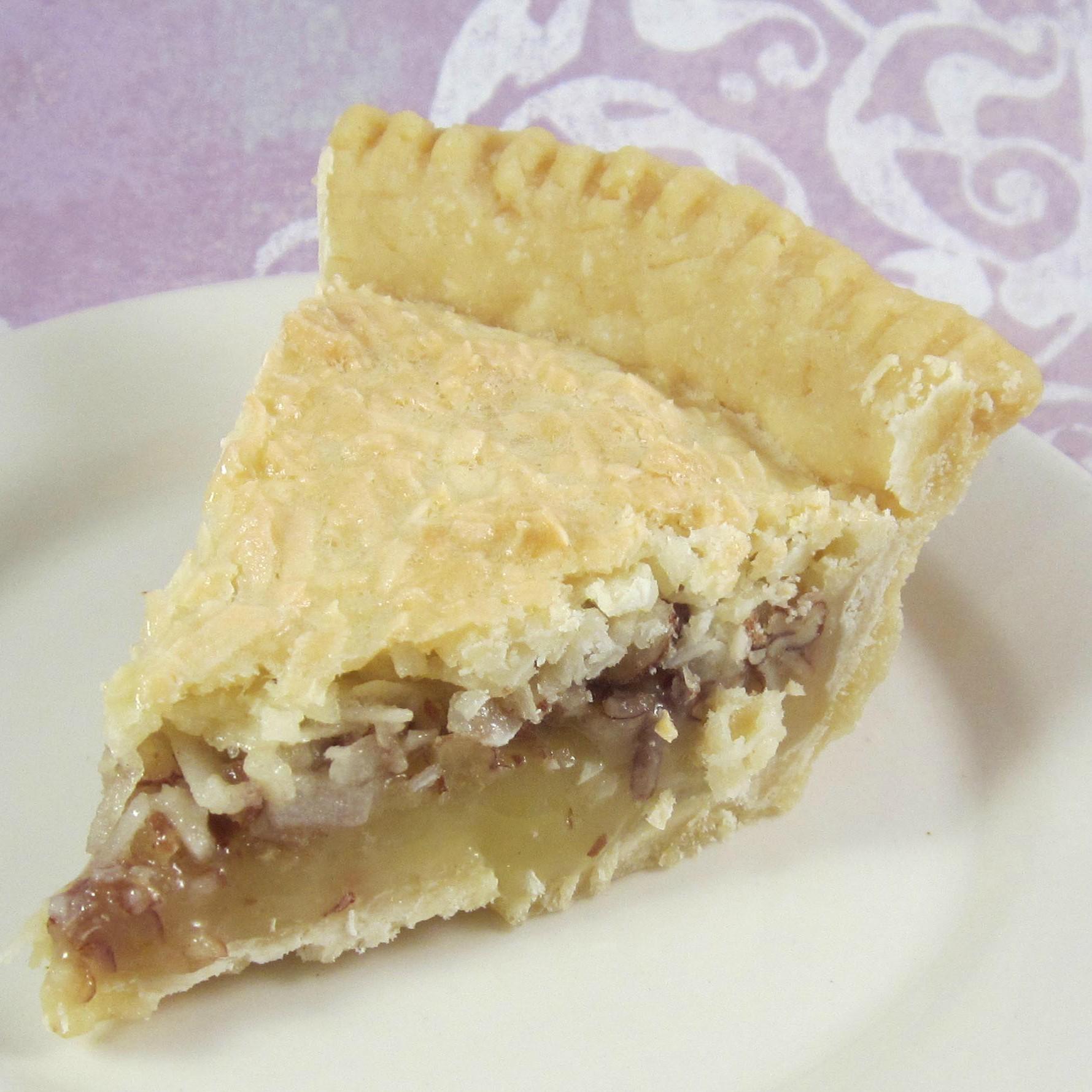 Coconut Macaroon Pie JJOHN32