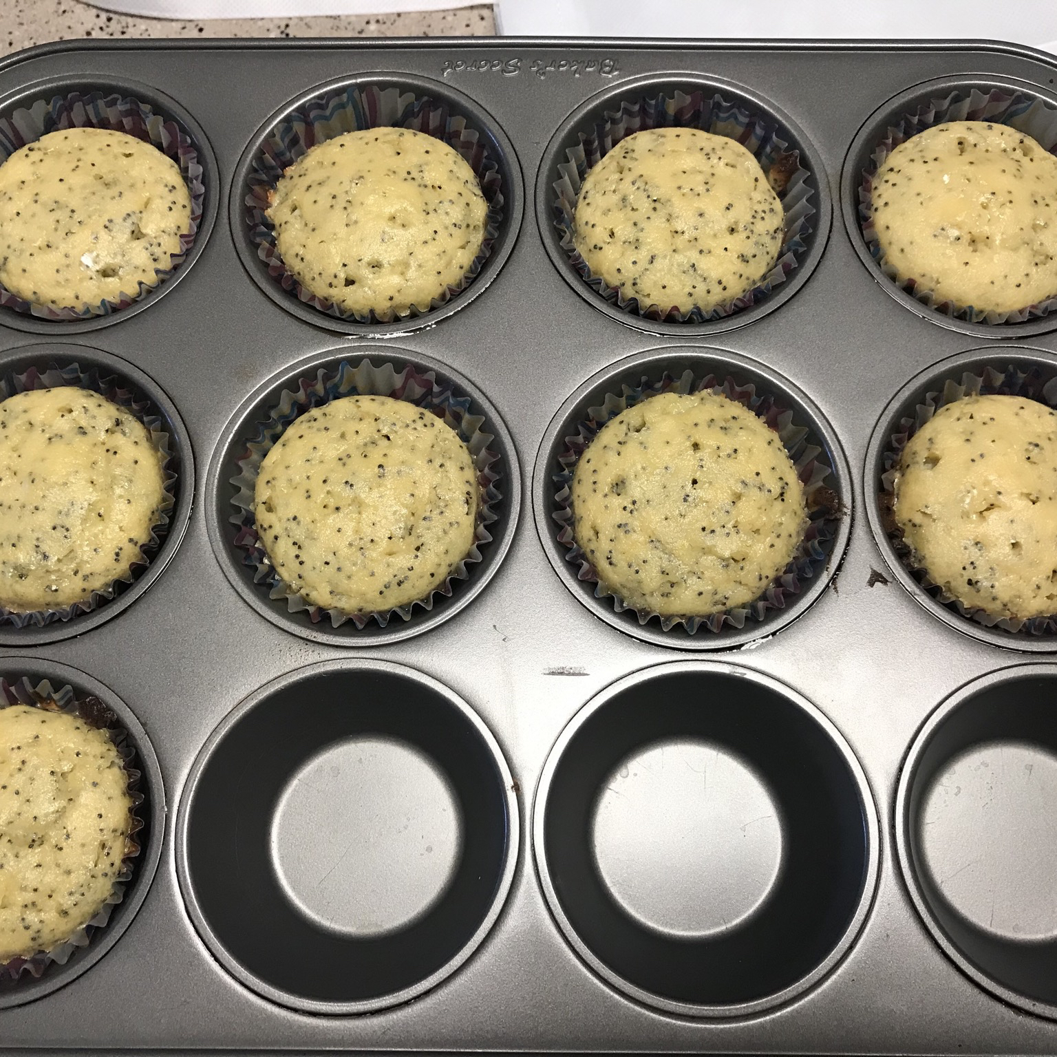 Keto Low-Carb Lemon Poppy Seed Muffins Katie Blaise