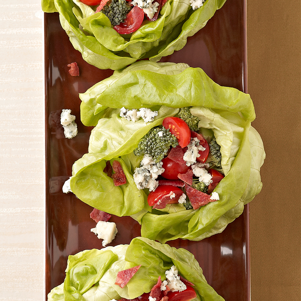 Stuffed Bibb Lettuce with Basil-Buttermilk Dressing Diabetic Living Magazine