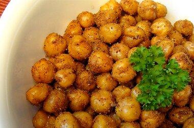 simple roasted chickpea snack recipe