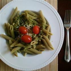 Simple Garlic and Basil Pesto