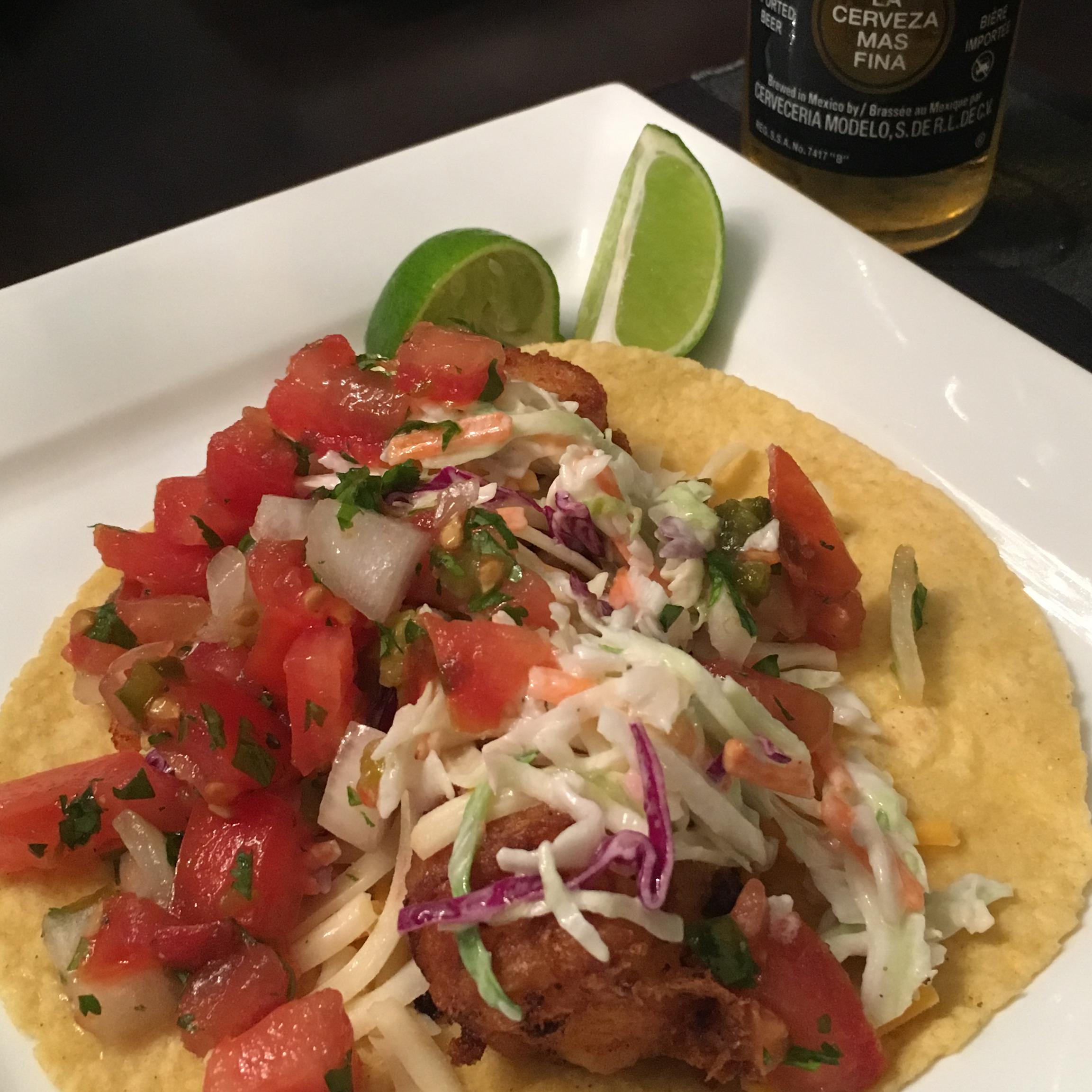 Baja Style Fish Tacos Amanda Potter