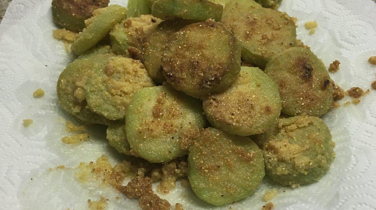 Fried Cucumbers