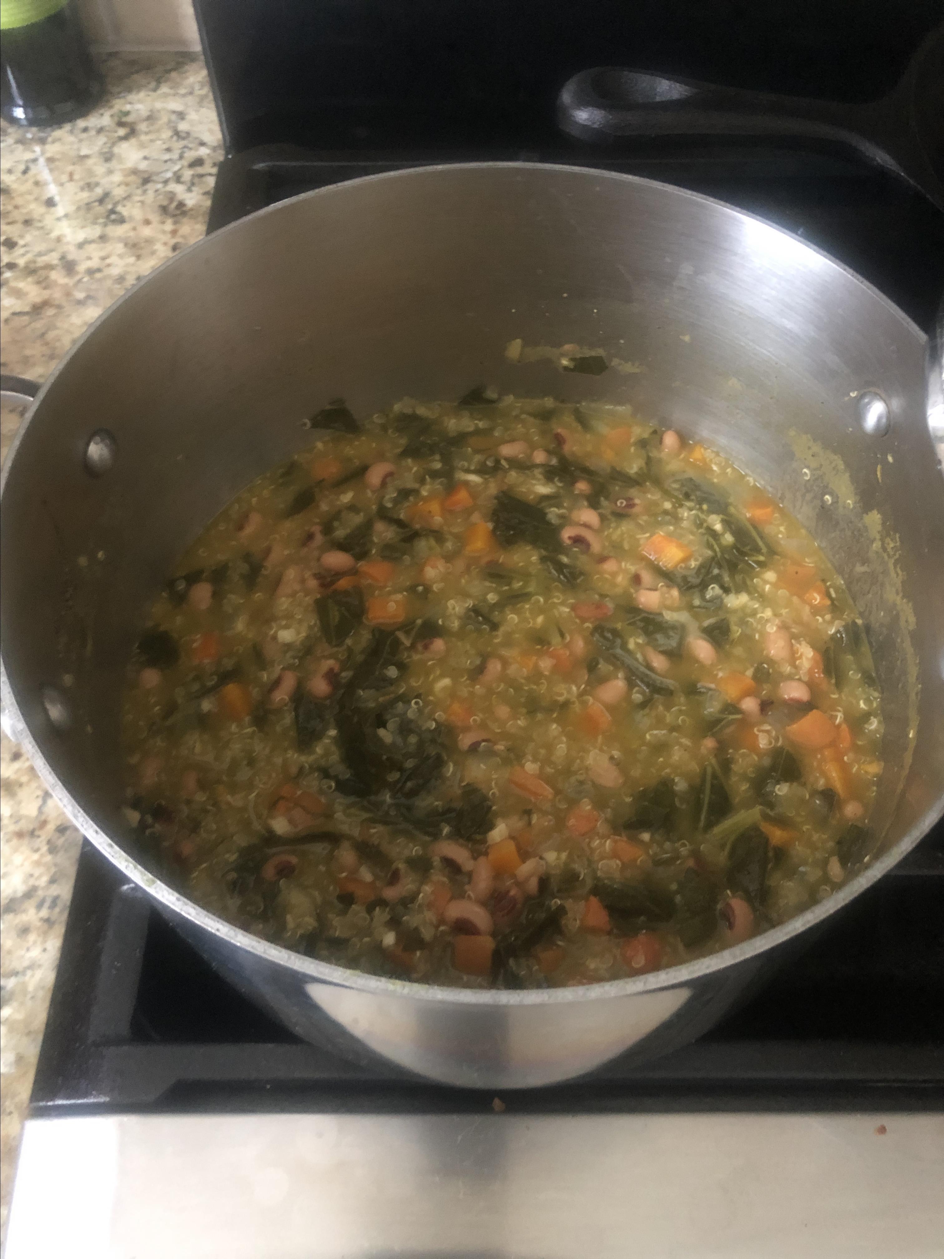 New Year's Soup Chaunta Horton