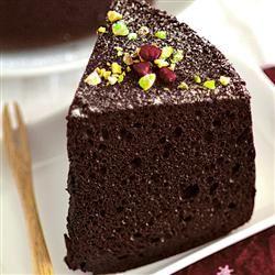 Rich Chocolate Chiffon Cake pickyin