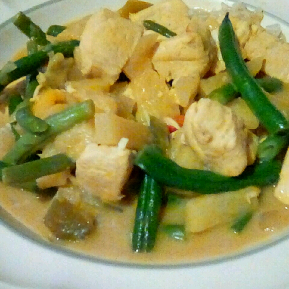 Coconut Chicken with Green Beans gsante