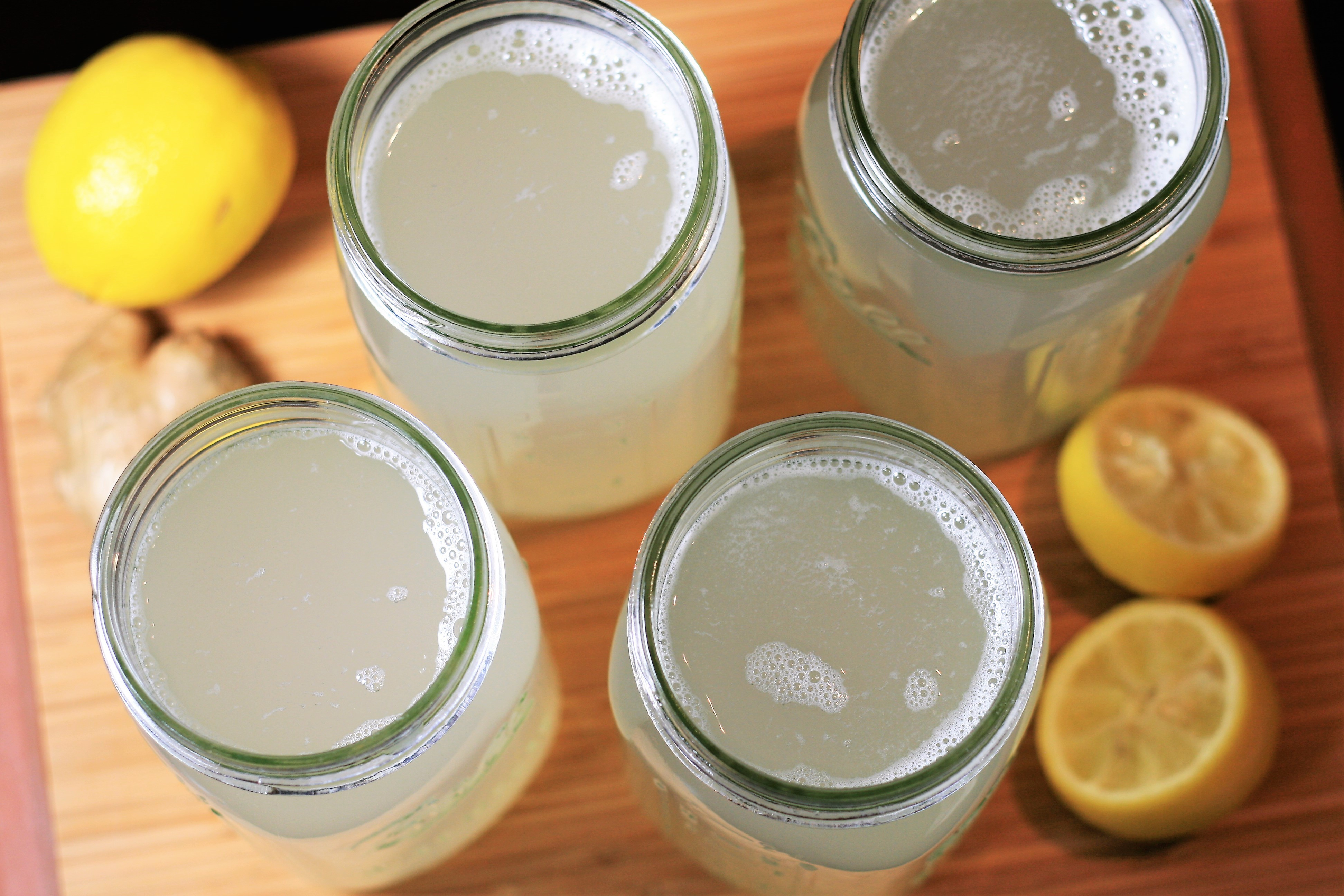 Lemon-Ginger Water