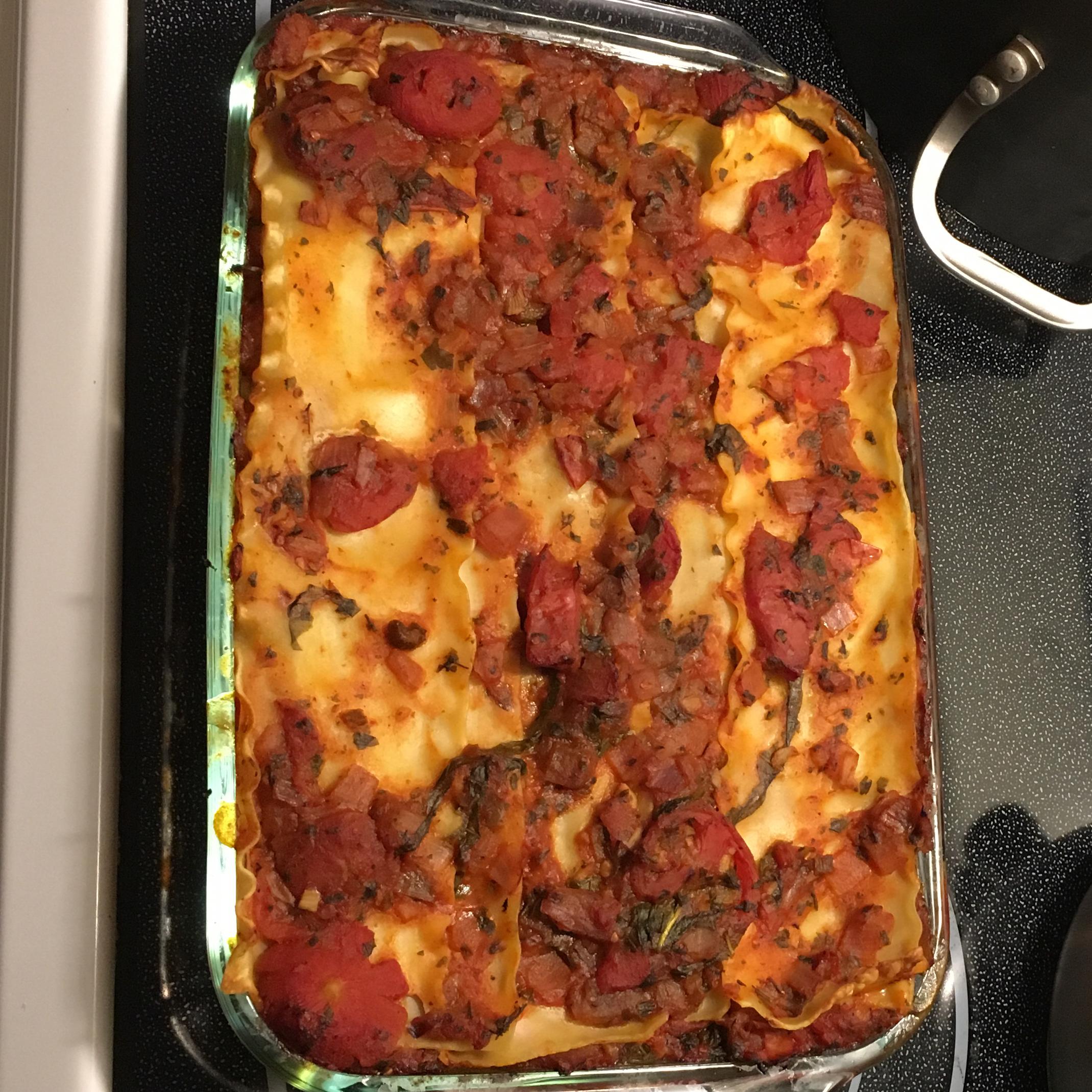 Vegan Lasagna I Suzanne