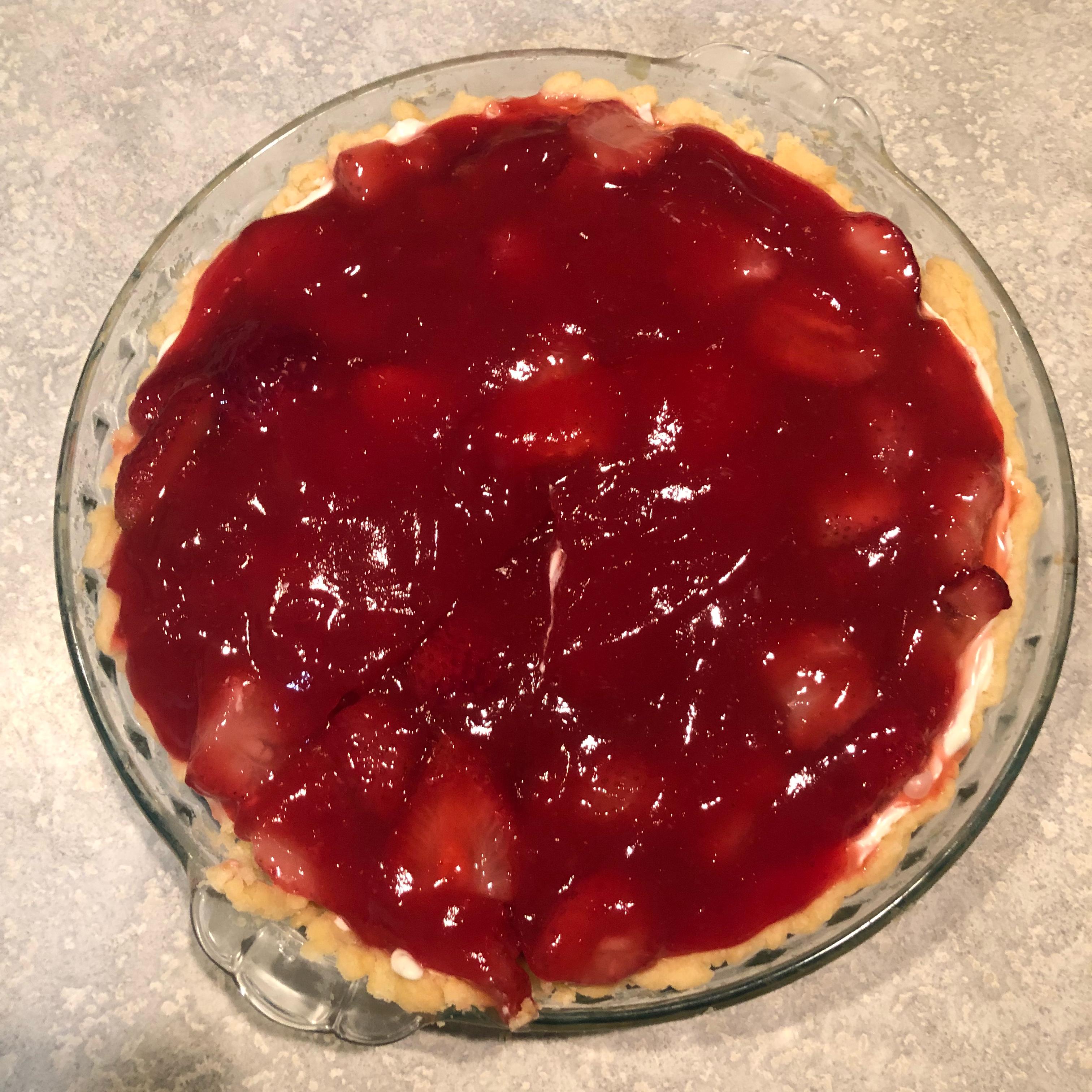 Summery Strawberry Pie Ambersuzui