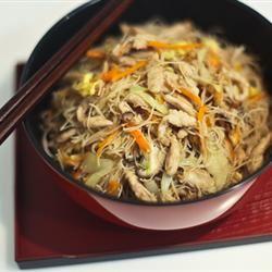 Tsao Mi Fun (Taiwanese Fried Rice Noodles) MOONBERRY