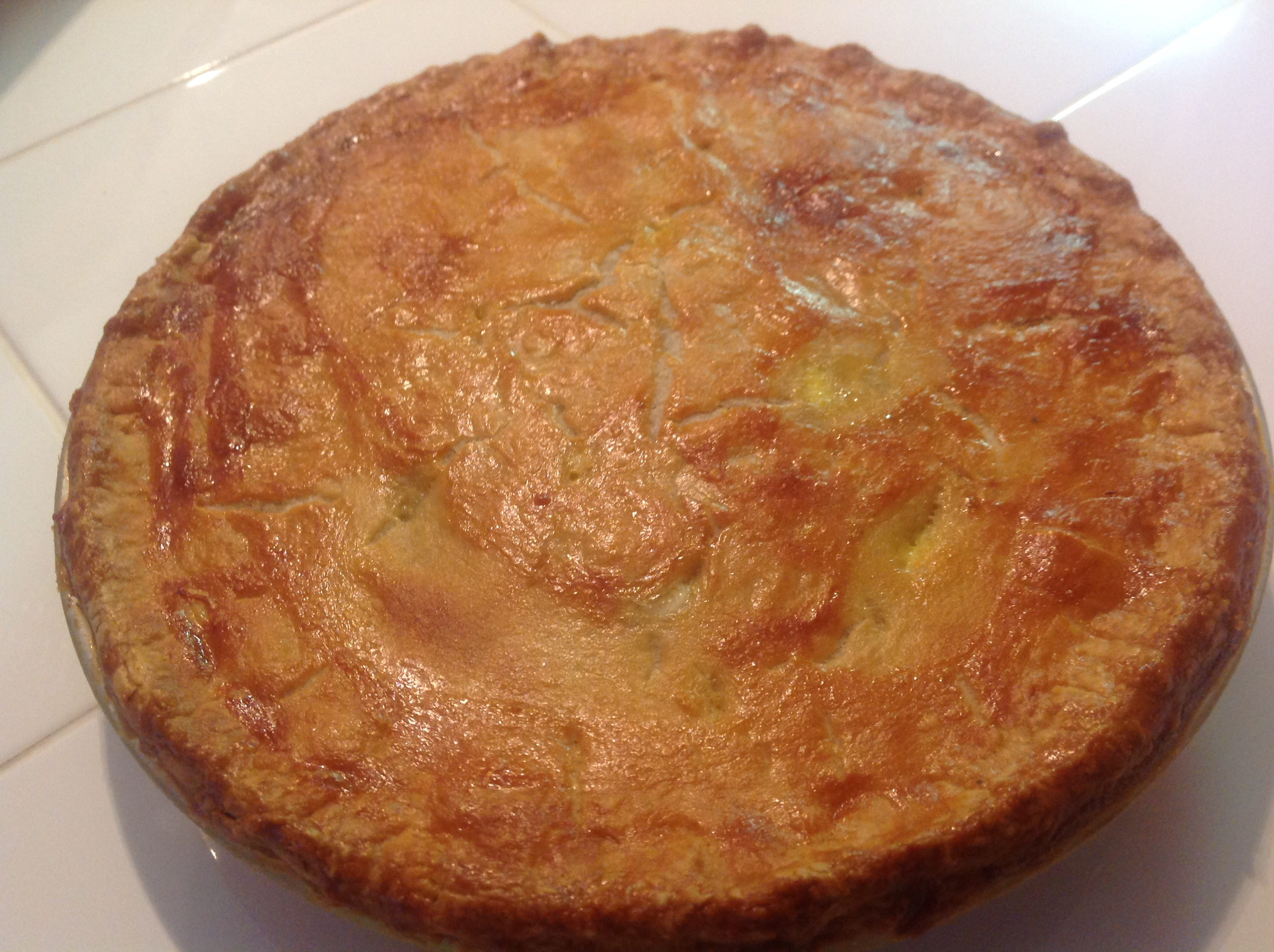 Tourtiere (French Canadian Meat Pie) Tamara Fenton