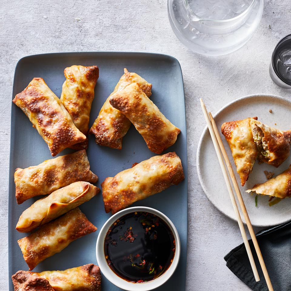 Air-Fryer Egg Rolls Adam Hickman